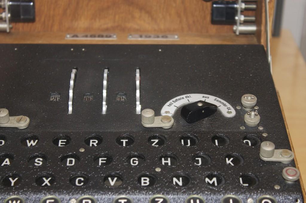 Enigma mit drei Walzen