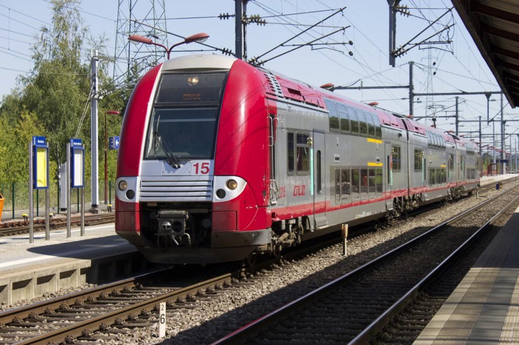 Alstom Coradia Duplex auf der Linie 70 der CFL