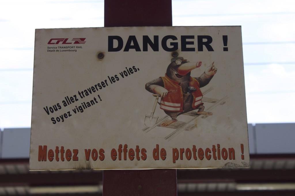 Warnung vor Gefahren