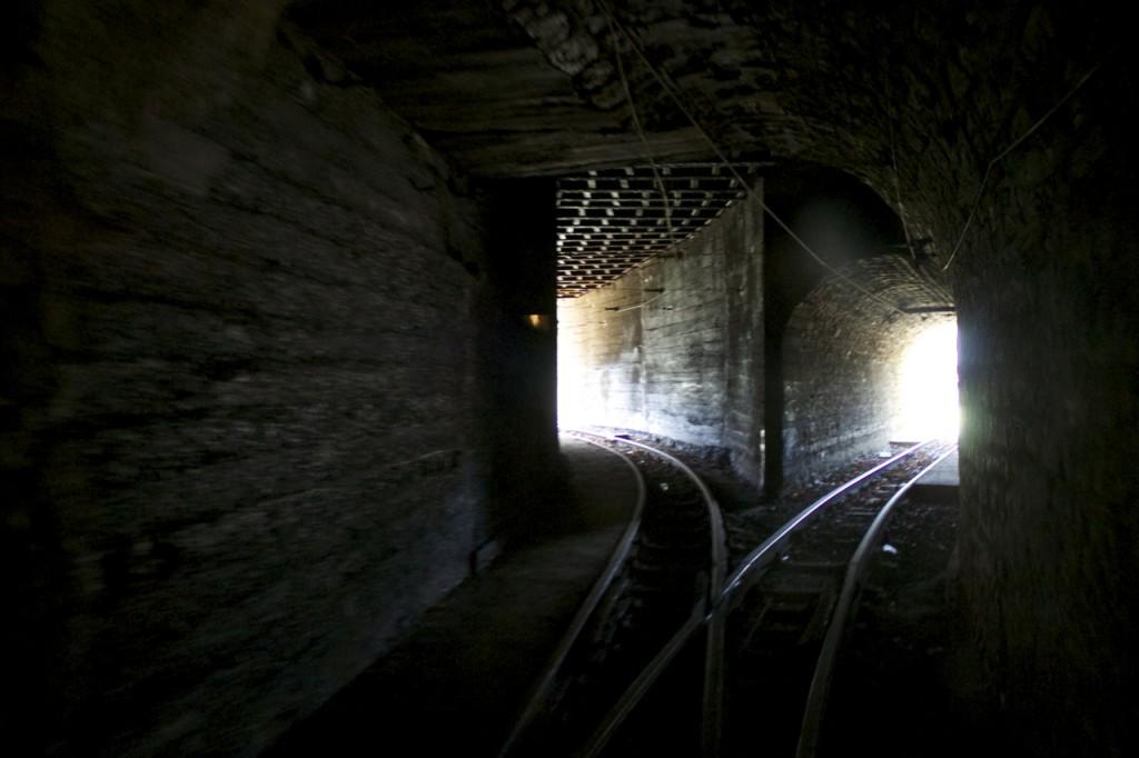 Tunnelende bei Lasauvage