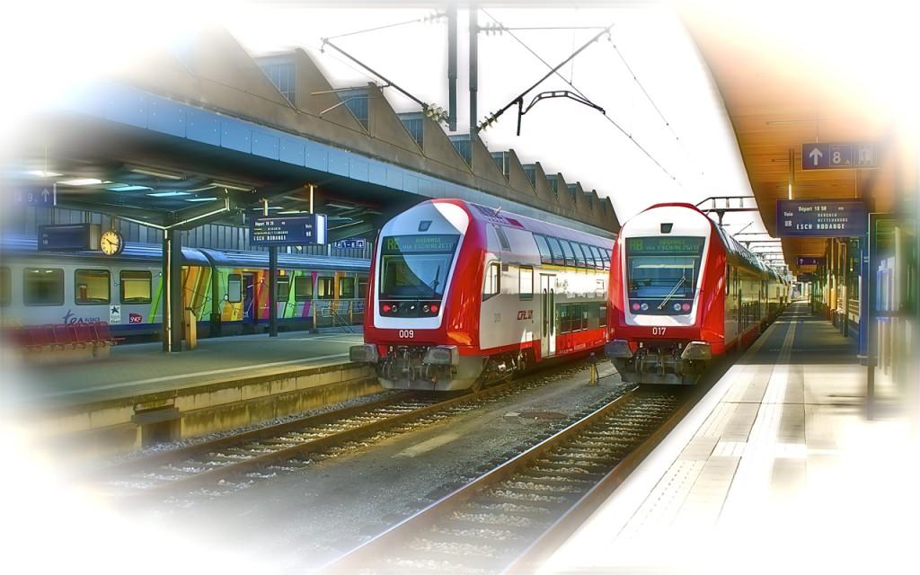 Bombardier-Doppelstockzüge in Luxemburg