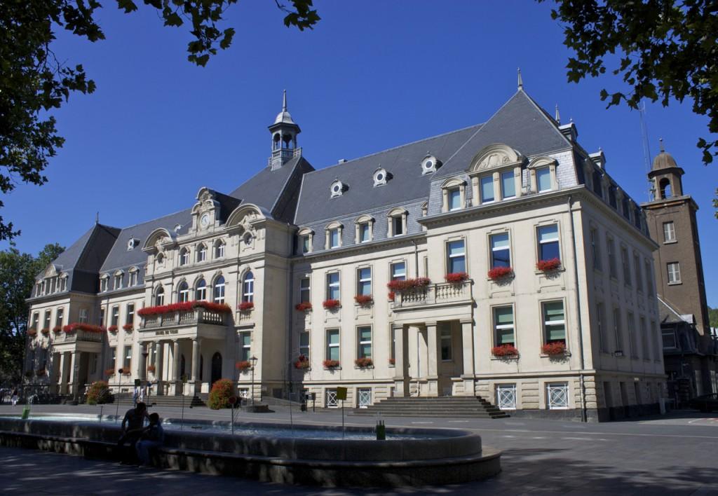 Das Rathaus von Dudelange