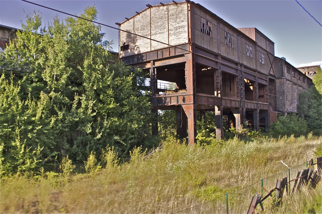 Industriebrache zwischen Esch und Audun