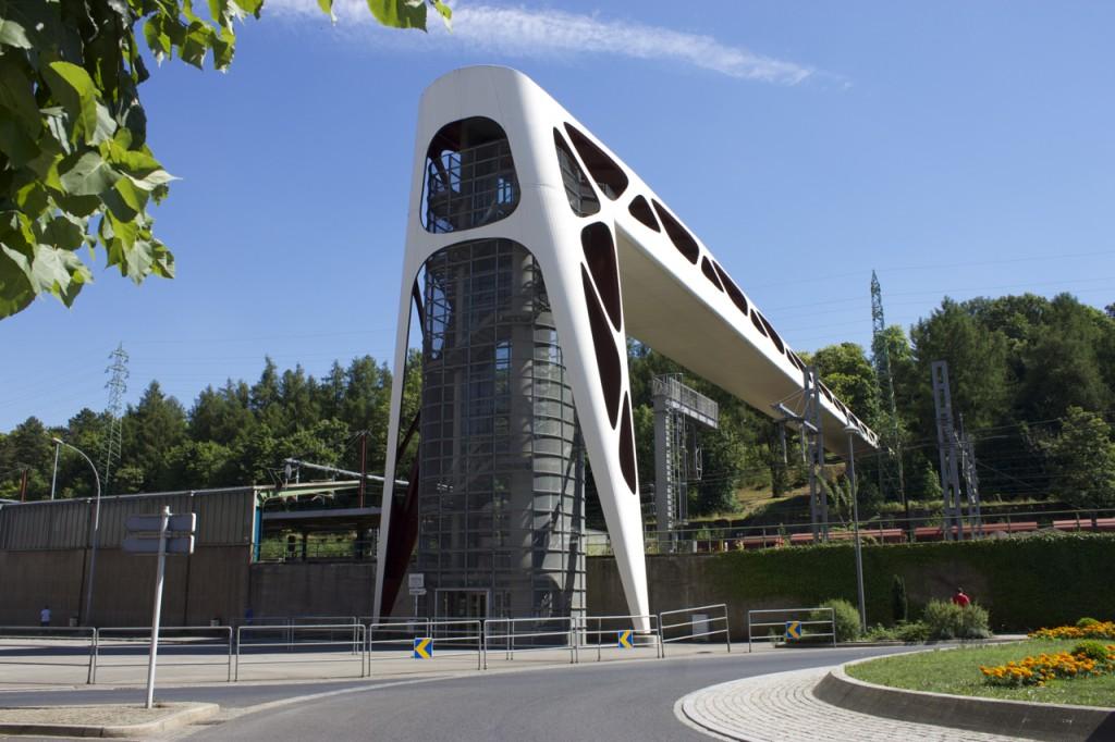 Fußgängerbrücke in Esch-sur-Alzette