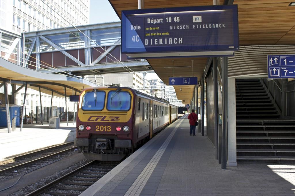 IR nach Diekirch