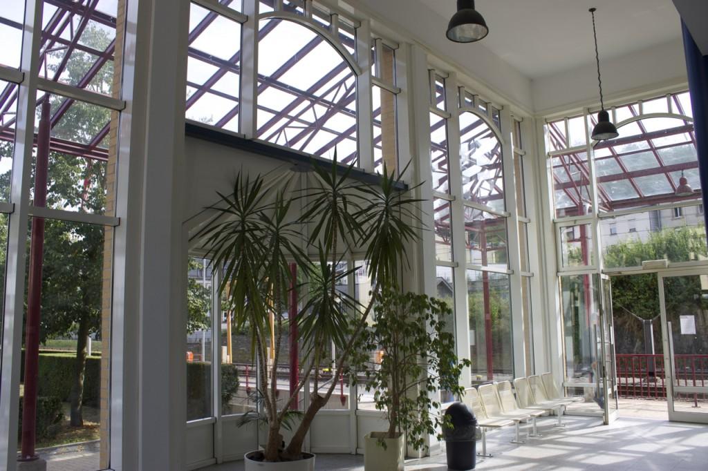 Bahnhofshalle Troisvierges