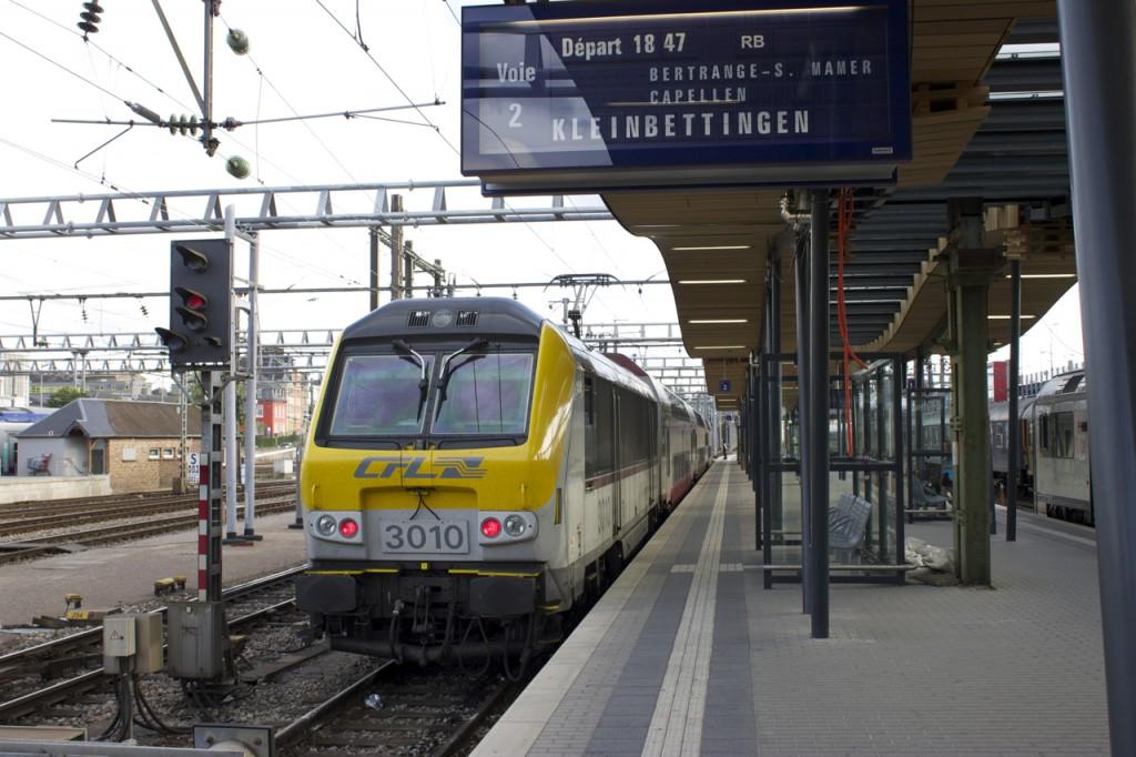RB der Linie 50 nach Kleinbettingen