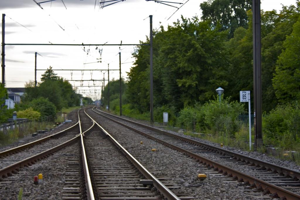 Strecke von Kleinbettingen nach Belgien