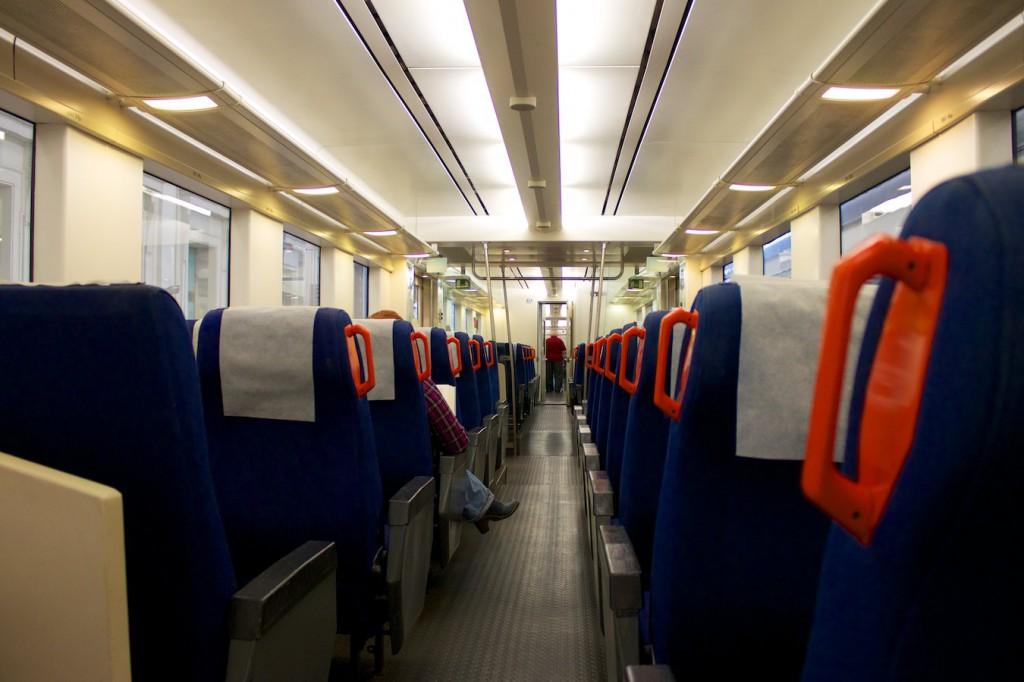 Innenraum der RENFE Baureihe 470