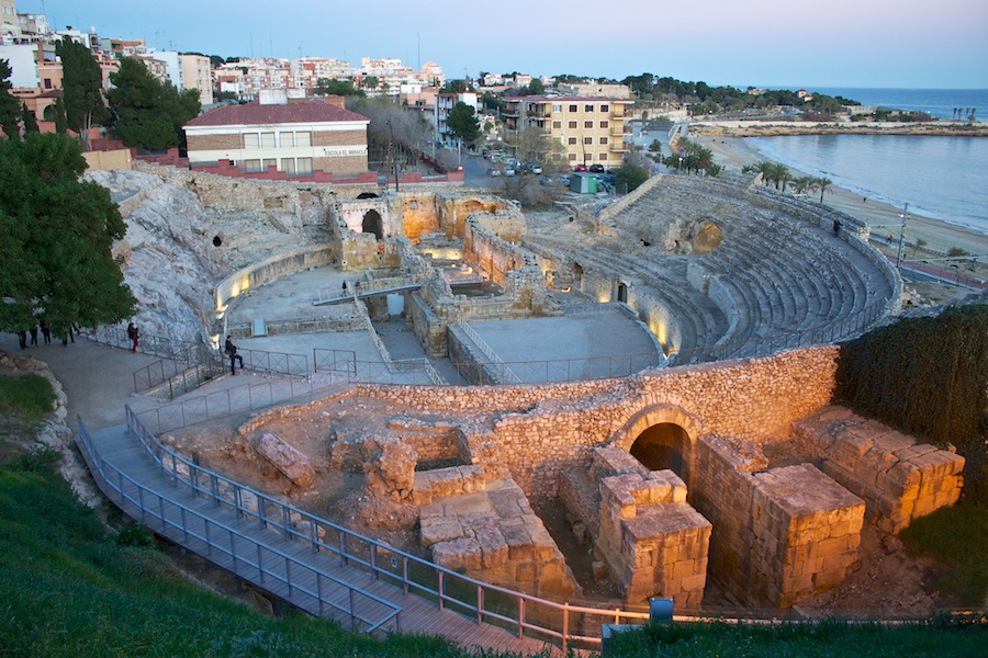 Amphitheater im Januar 2013