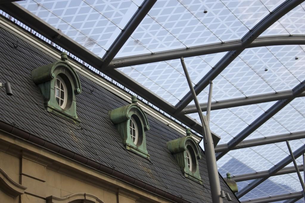 Luxemburg Bahnhof: alt und neu