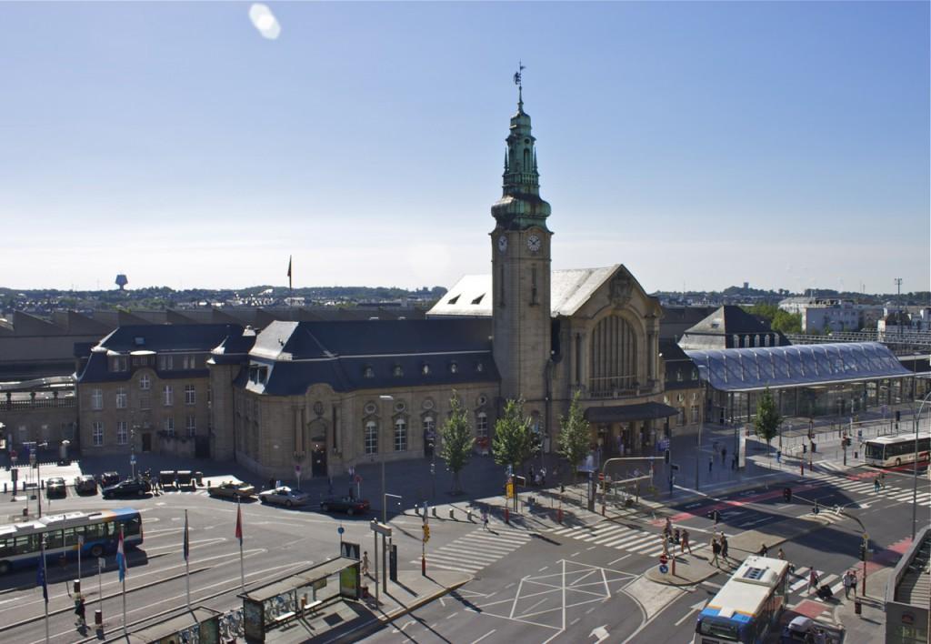 Luxemburg Bahnhof