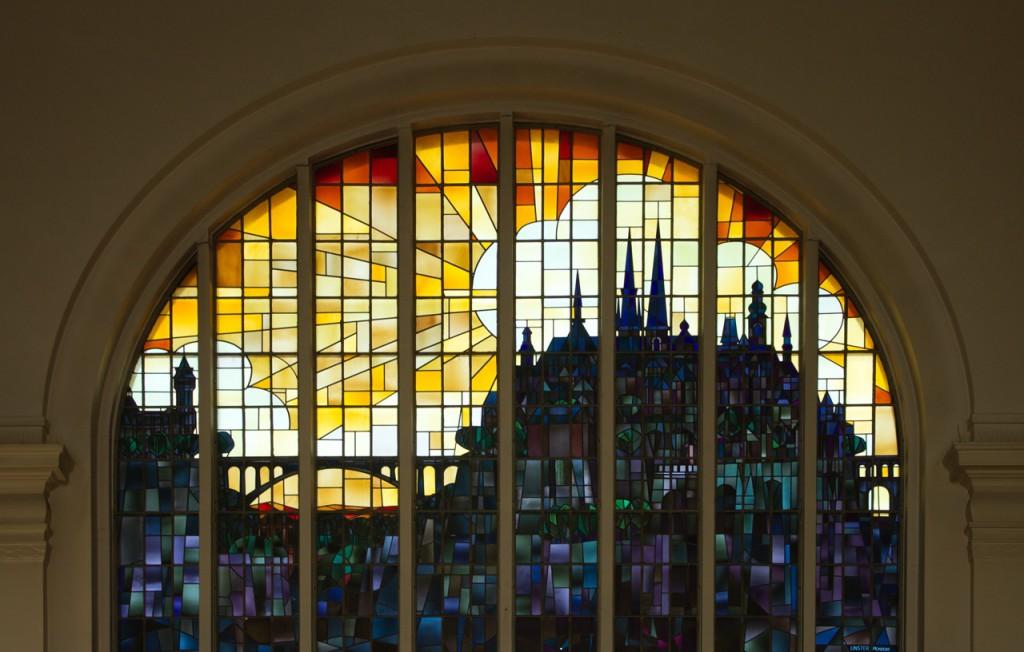 Fenster im Luxemburger Bahnhof
