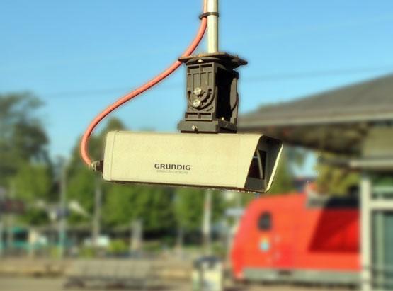 Videoüberwachung am Bahnhof Offenburg