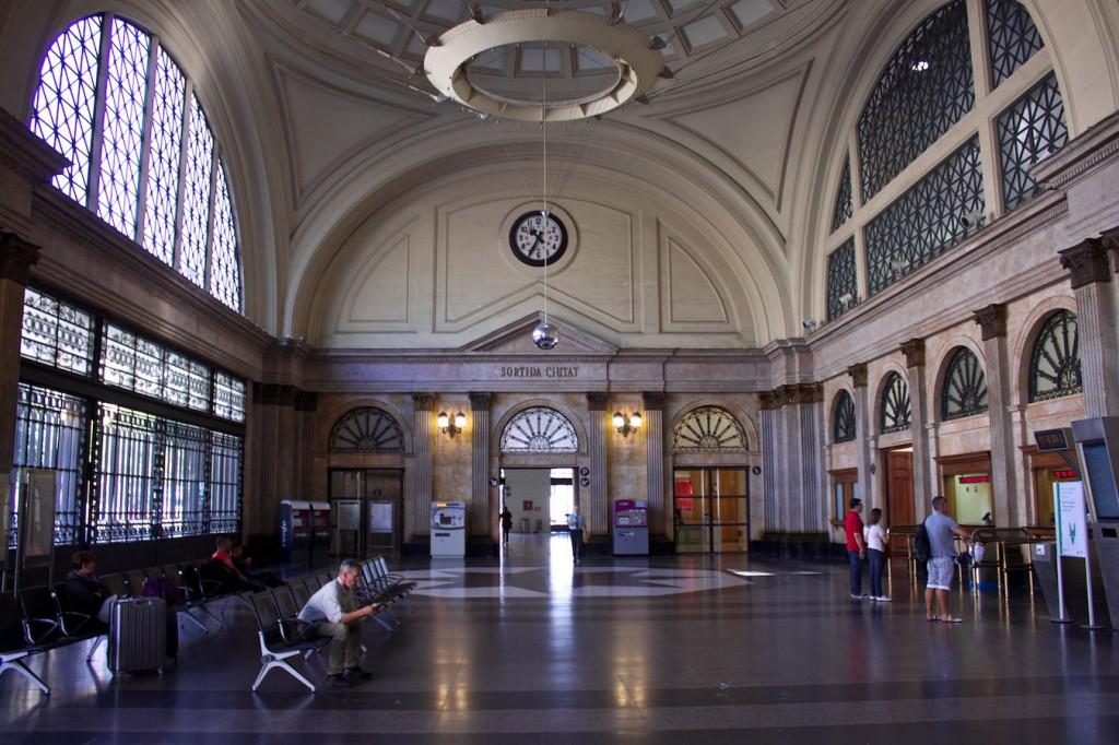 Bahnhofshalle Barcelona França