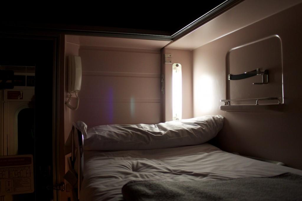 Bett im Elipsos Trenhotel