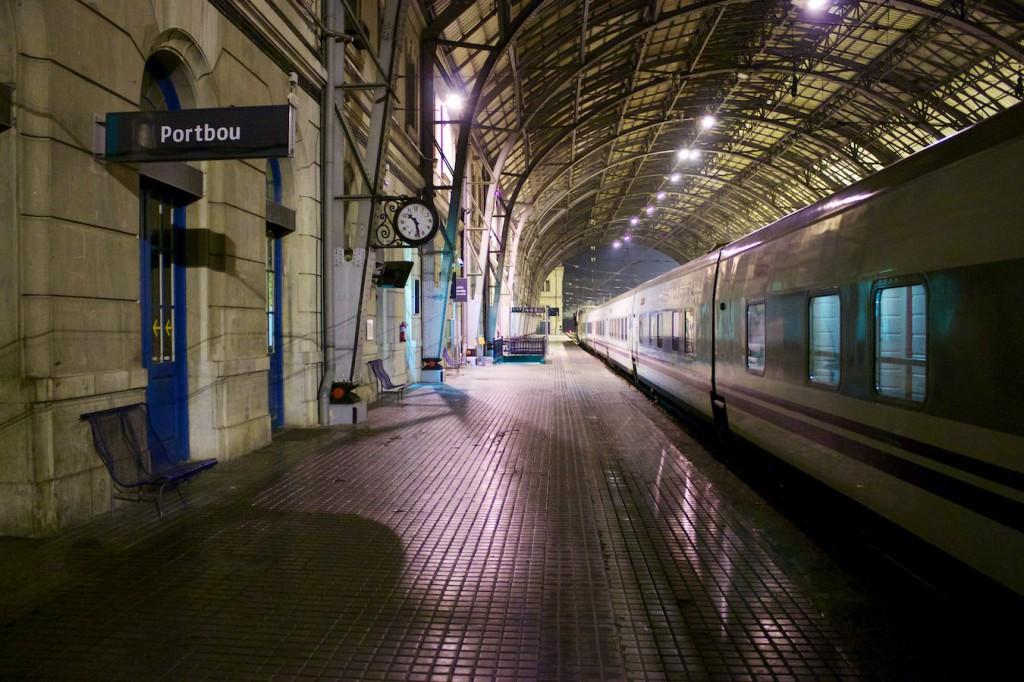 Elipsos Trenhotel in Portbou