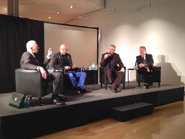 Podiumsdiskussion im Museum für Kommunikation in Frankfurt