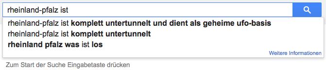 Rheinland-Pfalz ist komplett untertunnelt und dient als geheime UFO-Basis
