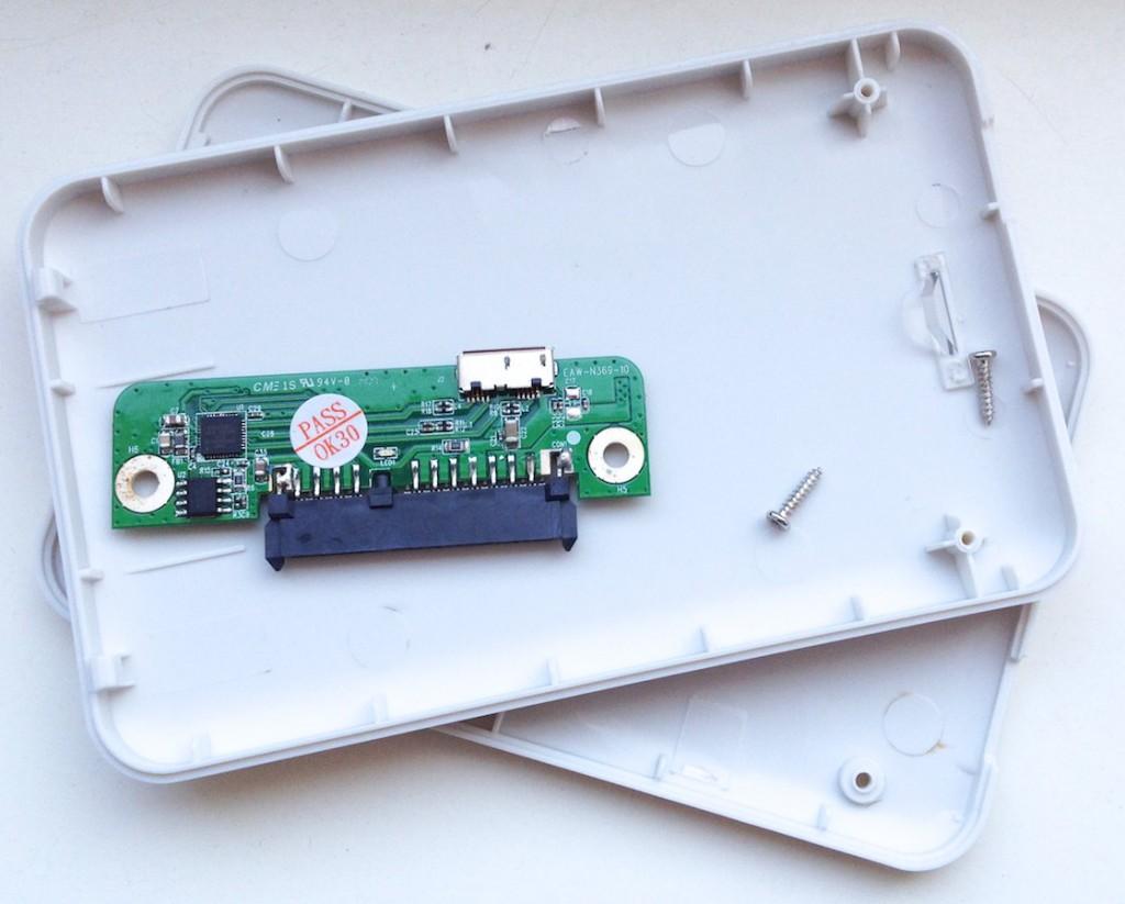 """""""Icy Box""""-USB 3.0-Gehäuse für 2.5""""-SATA-Festplatte"""