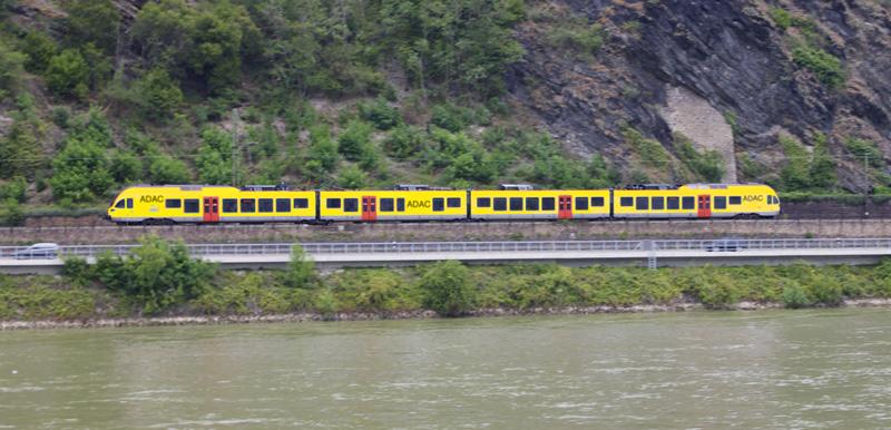Sichtung auf der rechten Rheinstrecke