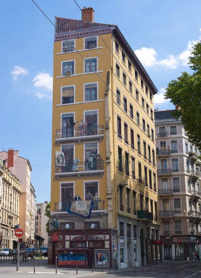 Fresques des Lyonnais Célèbres