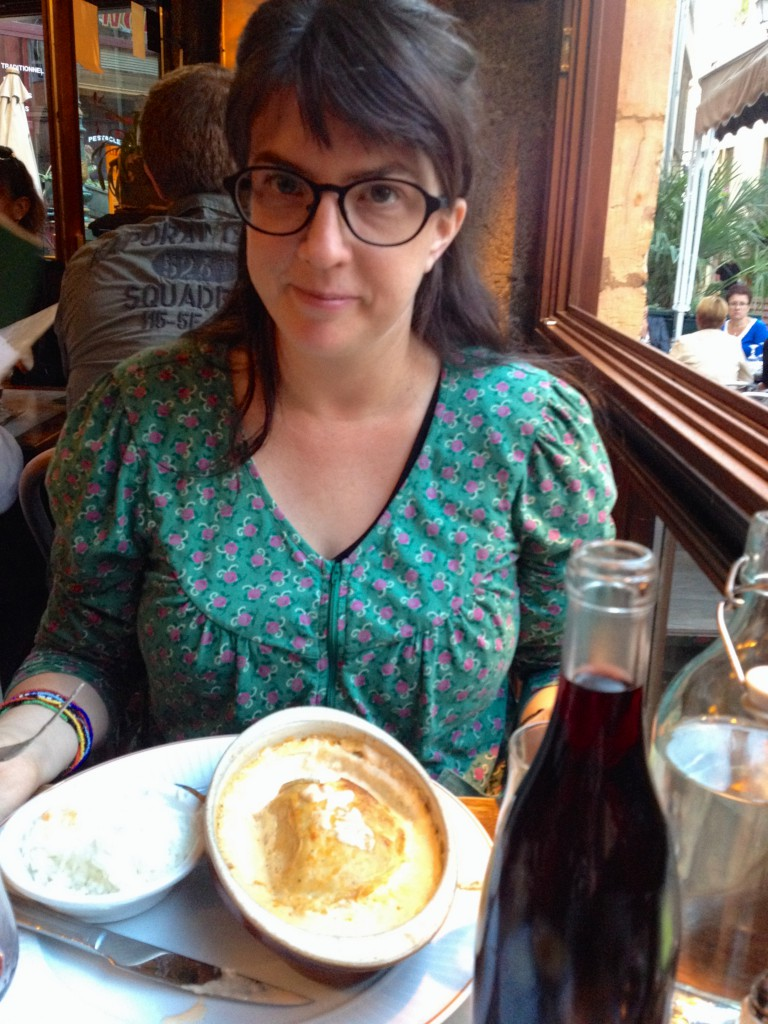 Quanelle zum Abendessen in Lyon