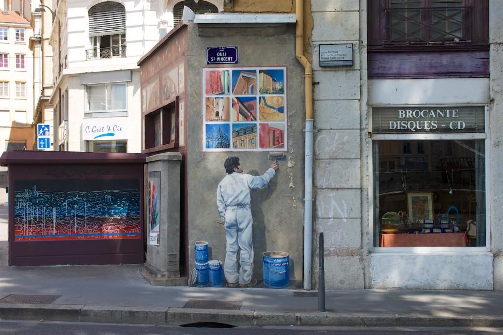 Fresques des Lyonnais Célèbres – Maler