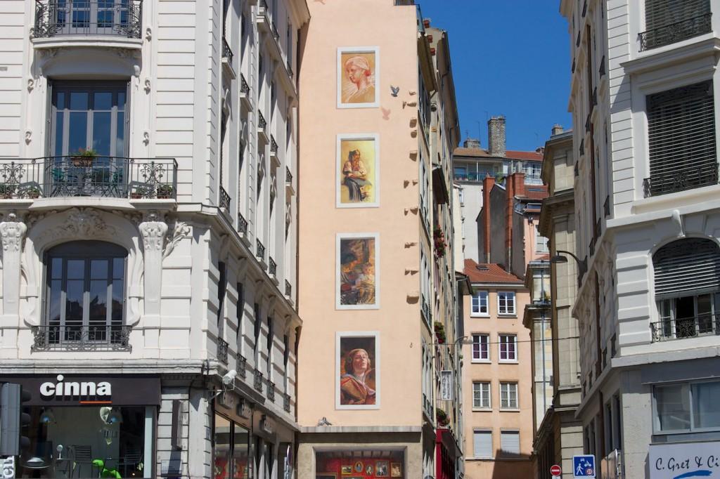 Fresques des Lyonnais Célèbres – Nachbarhaus