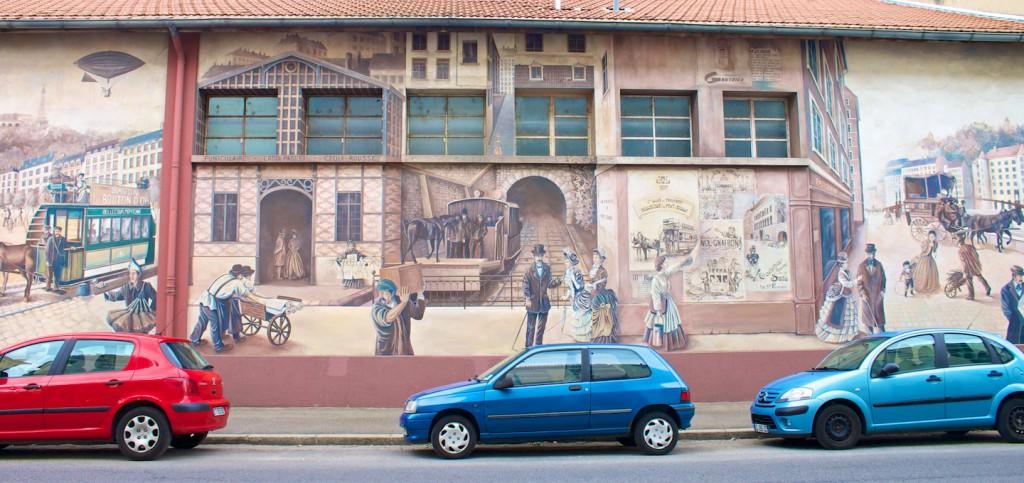 Voyage dans la Ville mit Standseilbahn nach Croix Rousse