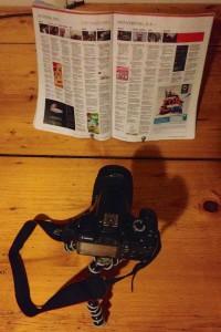 Abfotografieren mit Stativ