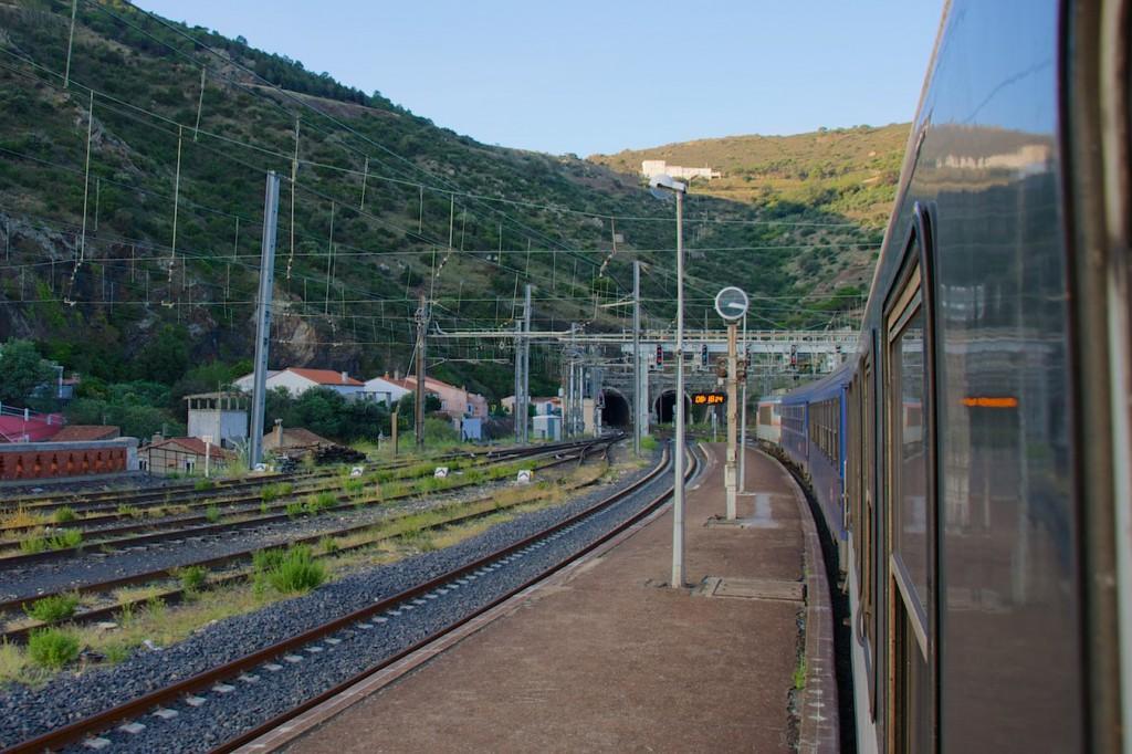 Nachtzug nach Portbou
