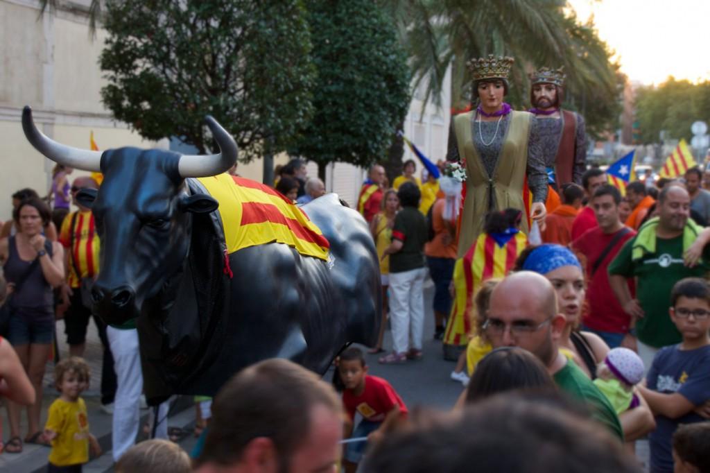 Demonstration in Reus
