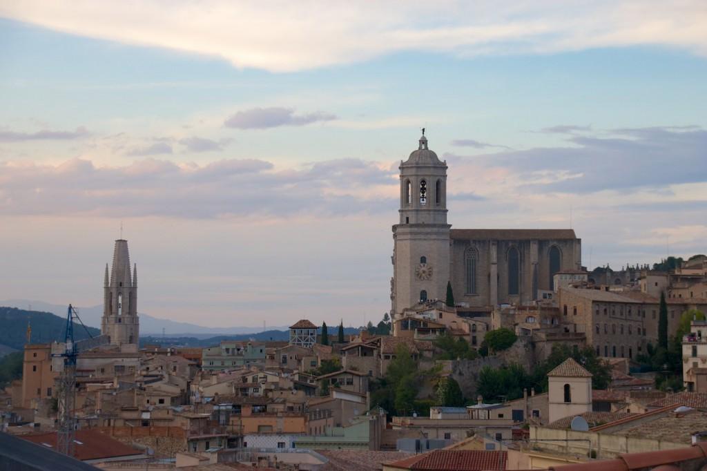 Blick über Girona
