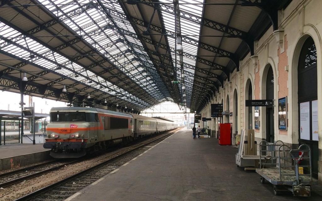 Bahnhofshalle in Hendaye