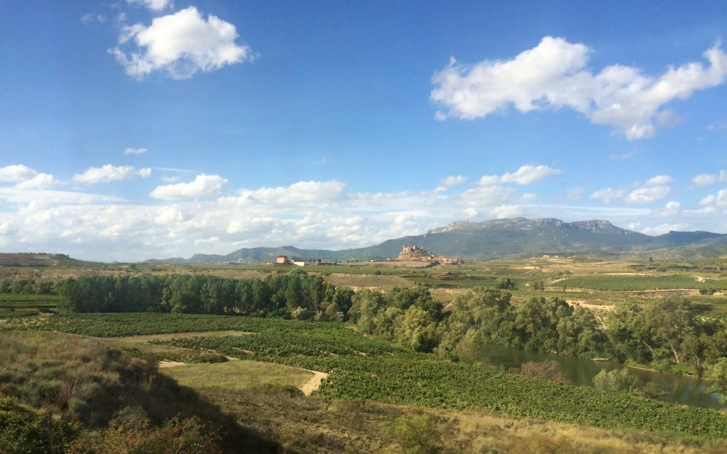 Zwischen Miranda de Ebro und Logroño