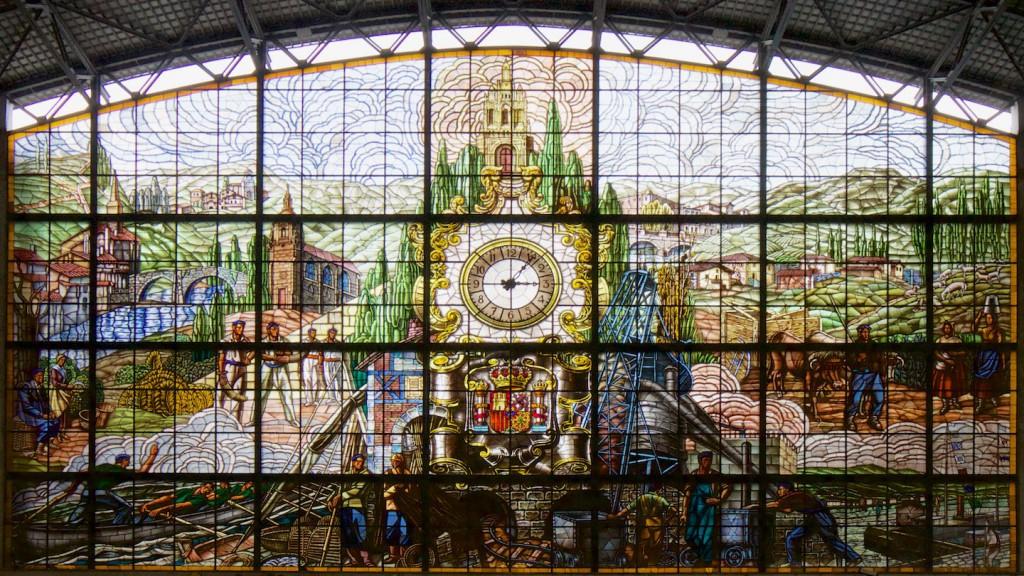 Im Bahnhof Bilbao Abando