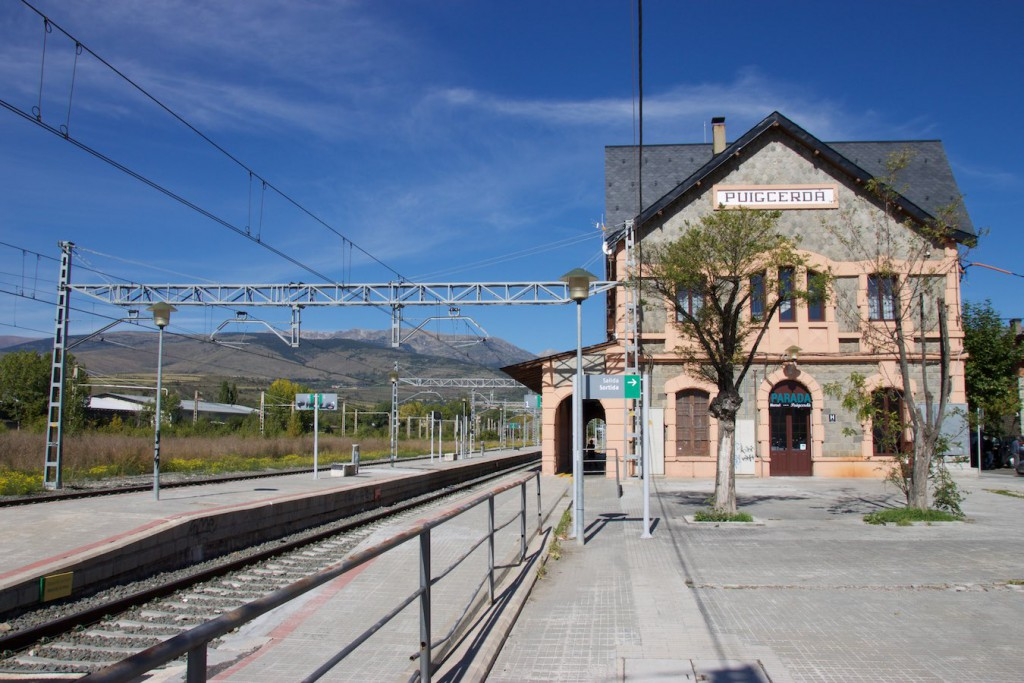 Bahnhof Puigcerdà / Hotel Parada