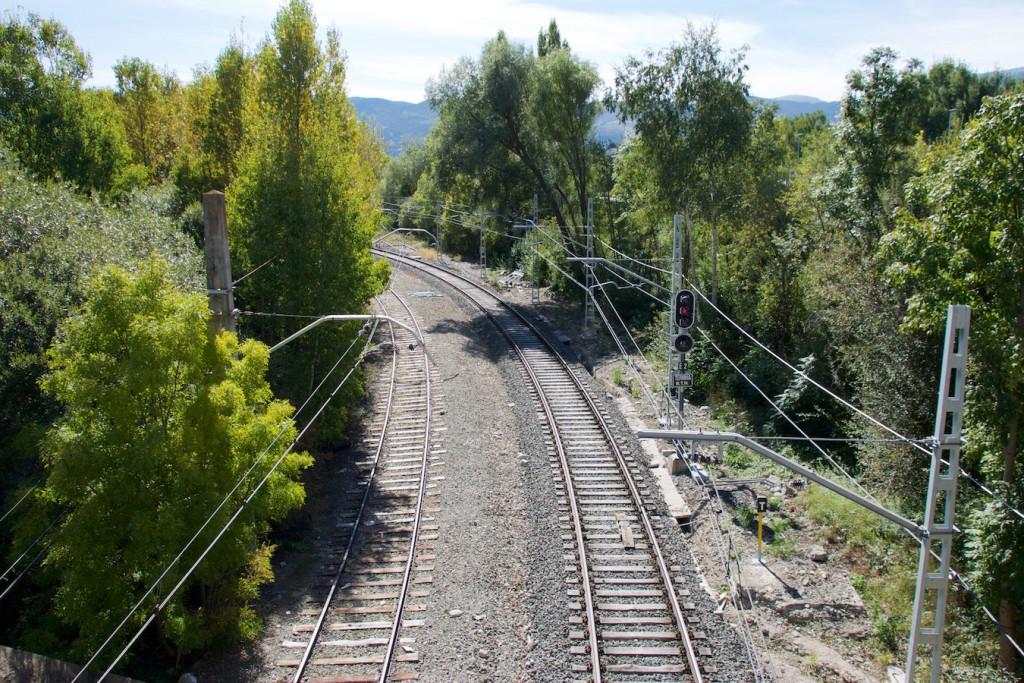 Einfahrt von Pugcerdà aus Frankreich