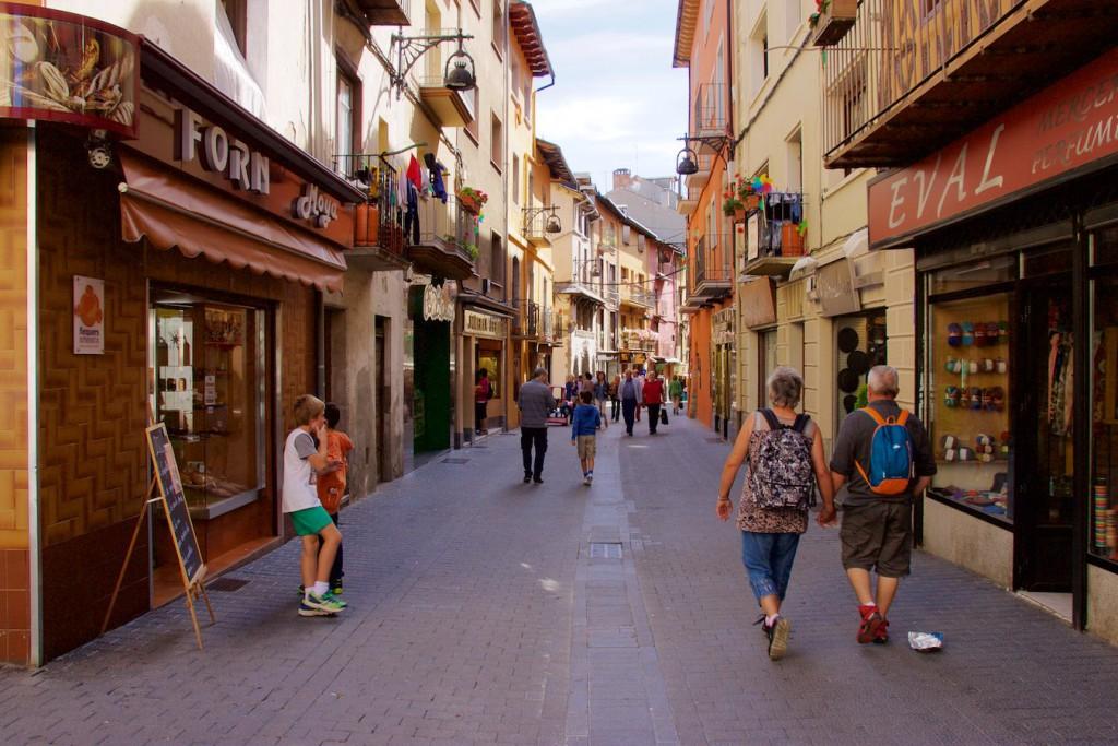 Stadtkern von Puigcerdà