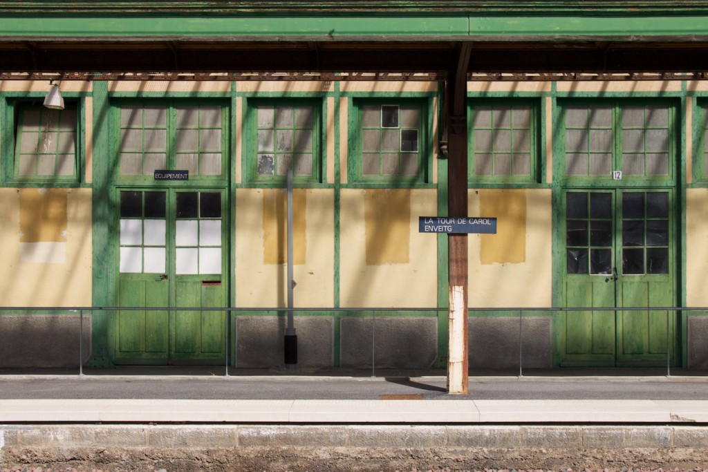 Am Bahnhof La Tour de Carol-Enveitg