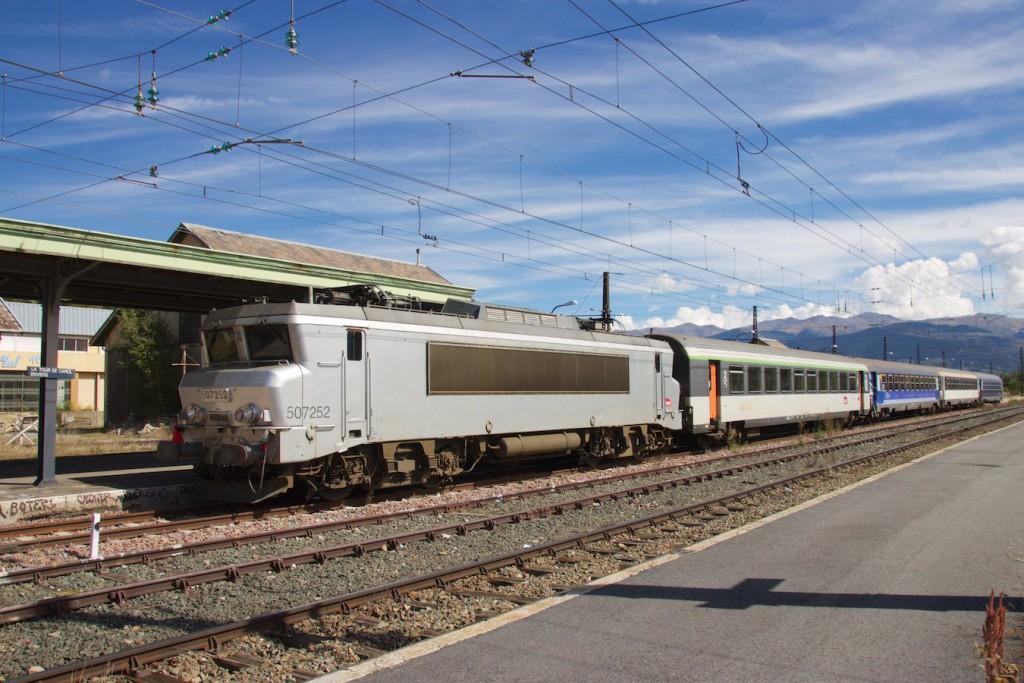 Nachtzug nach Paris Austerlitz
