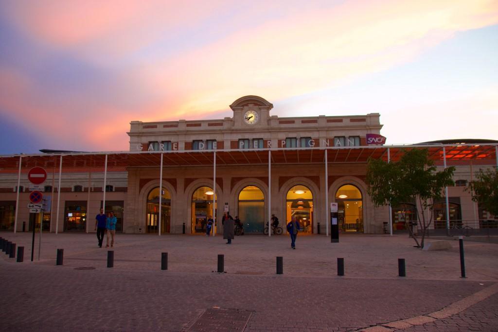 Bahnhof Perpignan