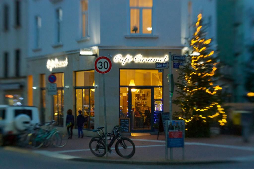 Café Caramel im Oeder Weg in Frankfurt