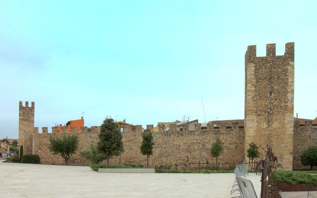 Stadtmauer von Montblanc