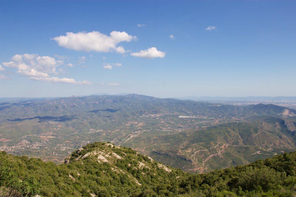 Aussicht vom Montserrat
