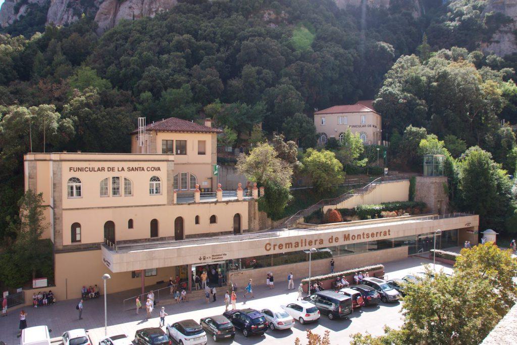 Bergstation Montserrat-Monestir