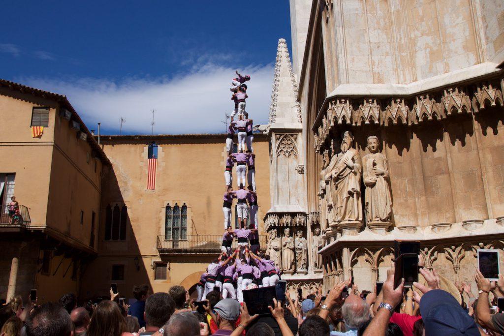 Castell der Colla Jove Xiquets de Tarragona