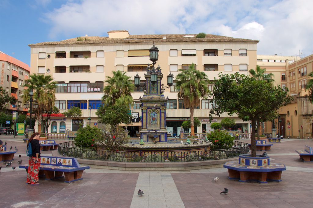 Plaza Alta in Algeciras