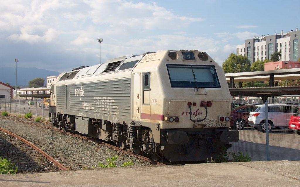 333 der RENFE in Algeciras